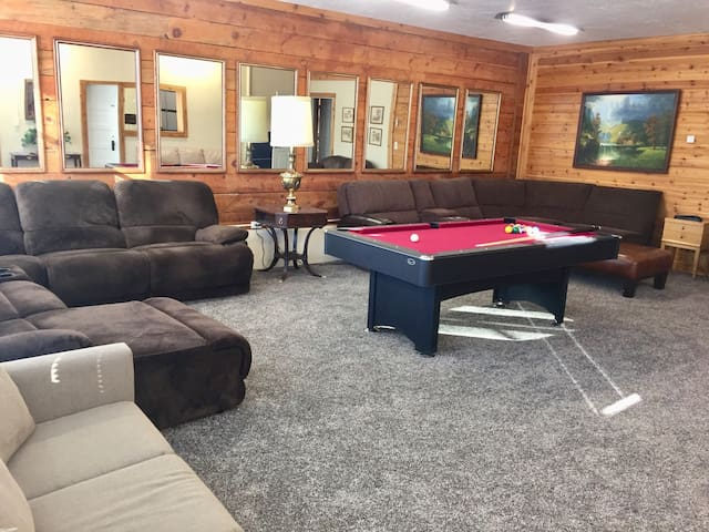 Living Room with Pool/ping pong