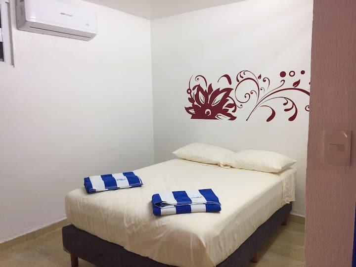 Habitación privada, Hostel Manik ADO