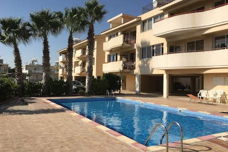 Two bedroom apartment with pool - Perivolia - Flat