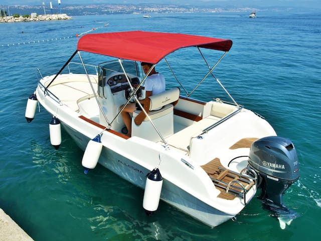 Rent a boat for 7 people with or without skipper - Ičići - Daire