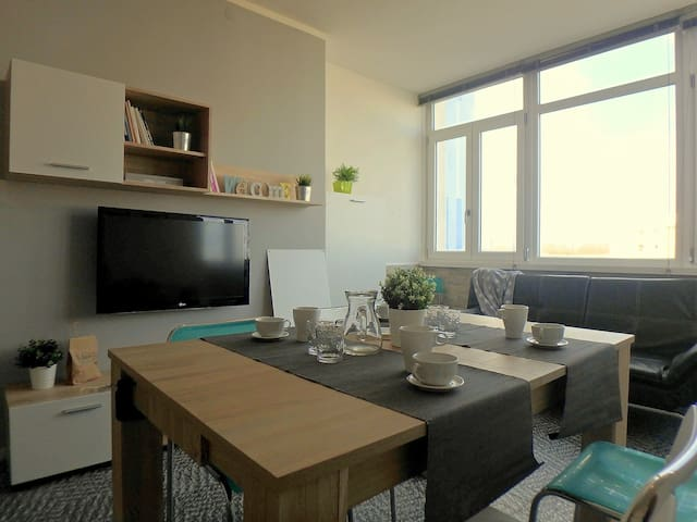 Apartment with sea view and air conditioning N13