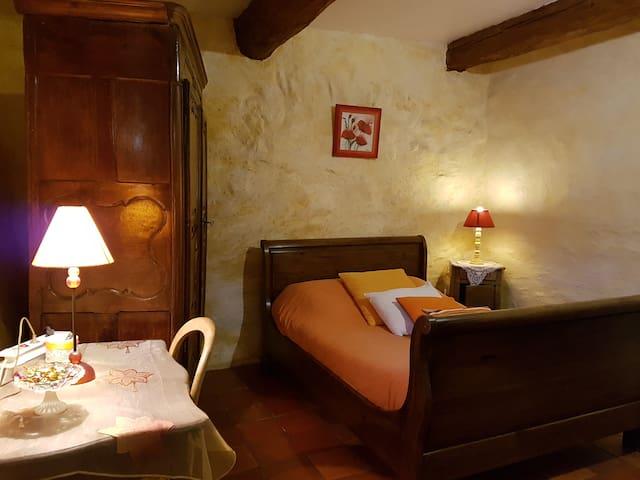 chambre coquelicot