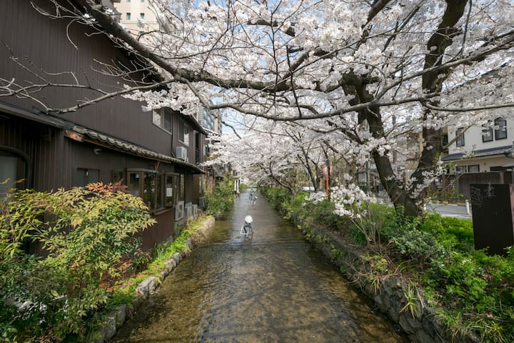 3 bed rooms Suite  95m²!2 stop from JR Kyoto St .