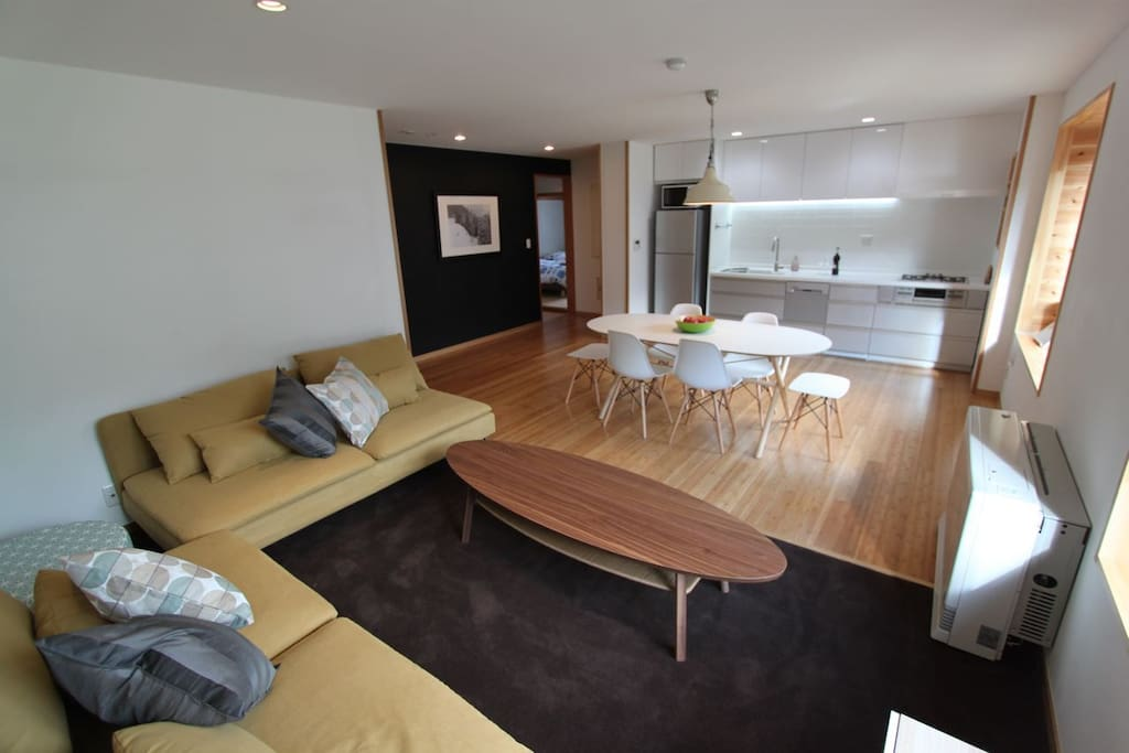 Nozawa Central 2 Bedroom Apartment Spacious Modern Design