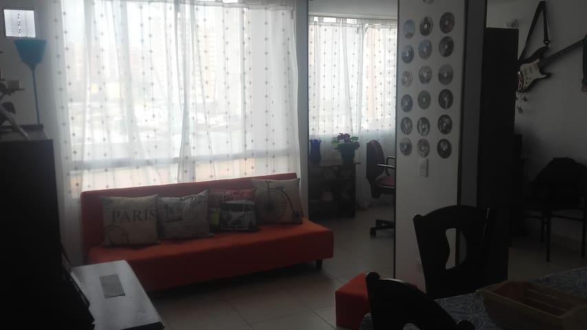 Apartamento confortable, excelente ubicación - Bogotá - Apartment