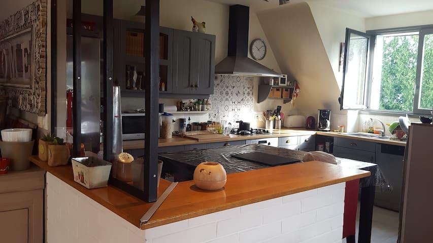 Maison familiale contemporaine proche Landerneau - La Roche-Maurice - Casa