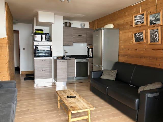 Apartment, Valset, Val-Thorens, 8p.