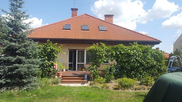 (Cały dom) Whole lovely, big home near Wroclaw