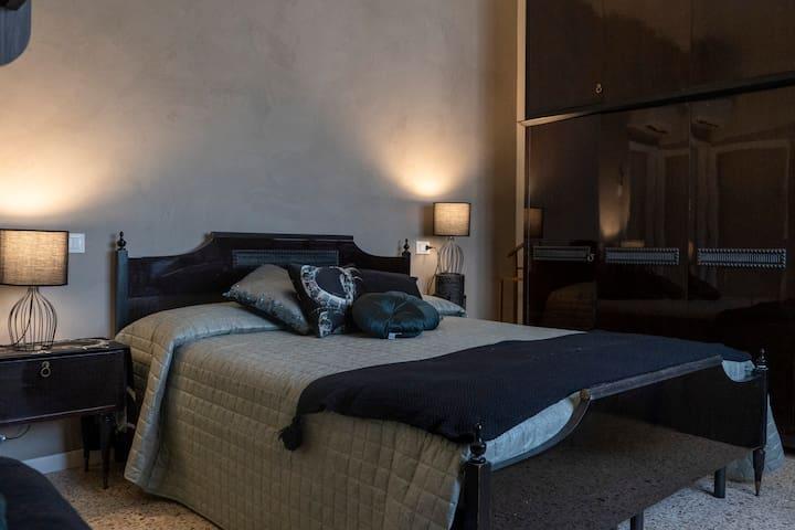 camera matrimoniale 4 posti letto con letto a castello