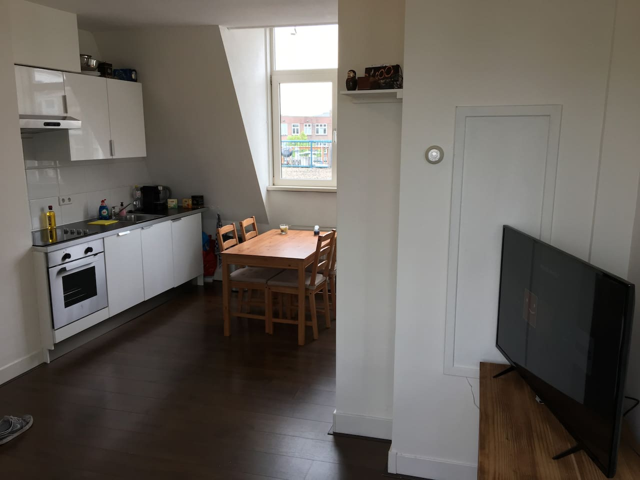 Private Living and Kitchen