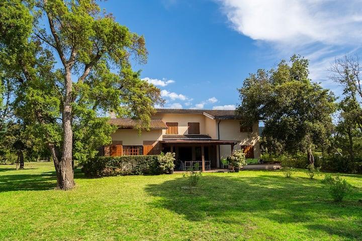 Villa Capinera, intera casa con parco privato
