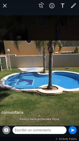 Moderno Apartamento Con Piscina Cerca De La Playa
