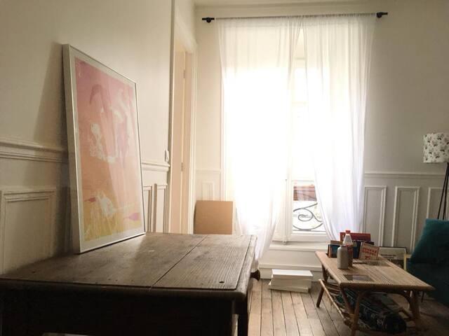 Charming Parisian Apartment near Pere Lachaise