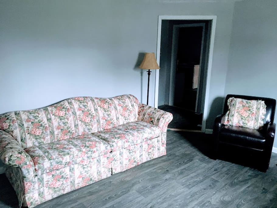 Living Room with Queen Sofa Bed