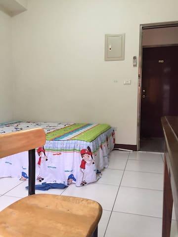 台中東海元弘獨立套房2-近東海商圈,龍井交流道,中科 - Longjing District - Apartment