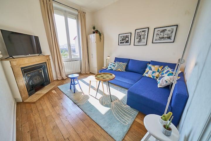 Charmant appartement calme et lumineux
