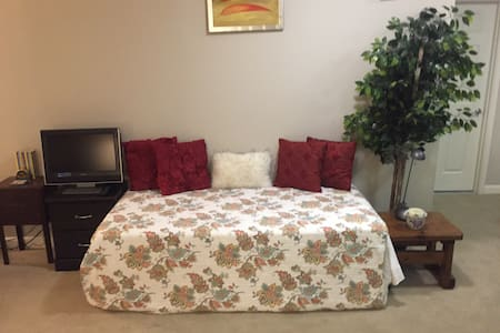 Single bed in living room - 巴尔的摩 - 公寓