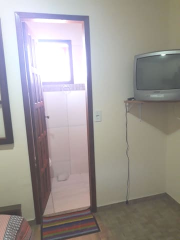 Entrada para o banheiro