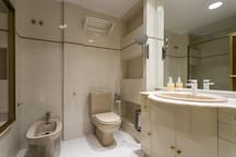 Bathroom, shared with 1 other guest only