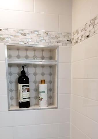 Master Bath - New Shower