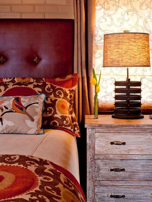 Cielito Lindo Guest Room A Detail
