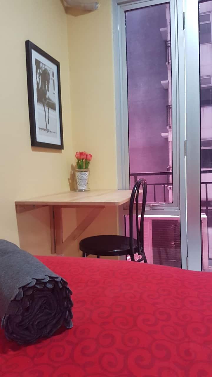 Cozy Studio17 with Free Wifi  @Jarrdins Cihampelas