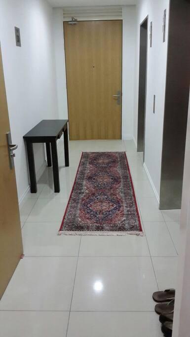Private lift access