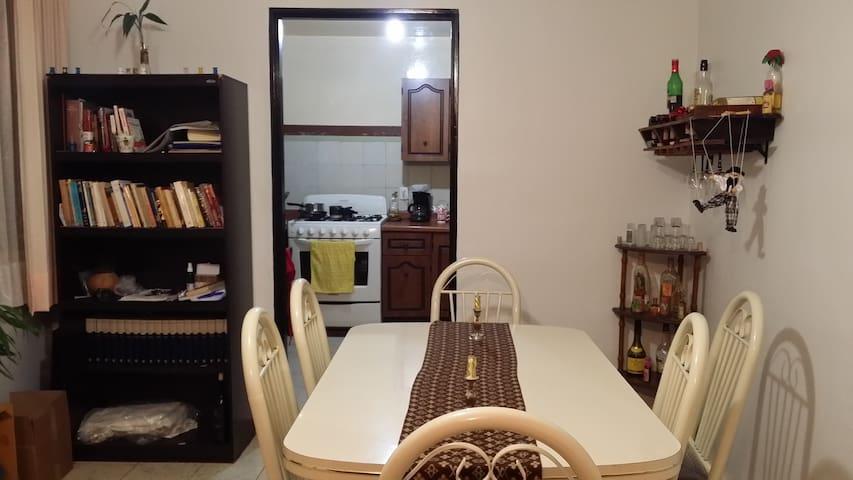 Depa con agradable ambiente a 15 min del Centro - Morelia - Apartment