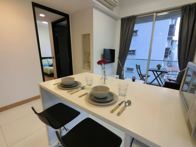 ☀1BR Fully Furnished, Good View @ Balestier TT