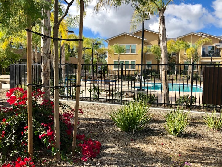 Condo style less than 6 miles from Del Mar beach!