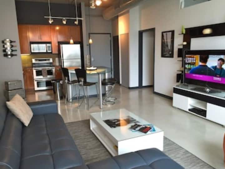 Two Bedroom Contemorary Loft Apartment in Miami