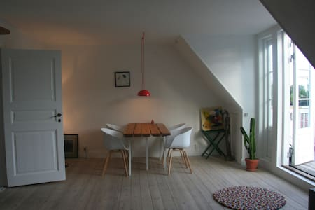 Houseappartment with 3 balconies and garden - Gentofte - Haus