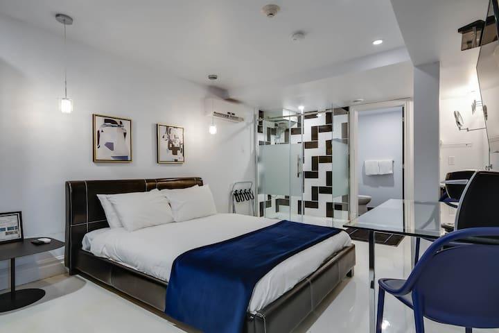 Chambre- Style Hôtel Près de l'hôpital Général Mtl
