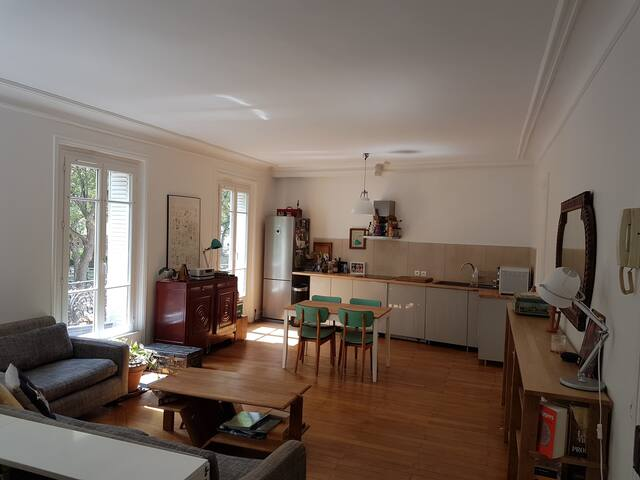 Flat on Canal Saint Martin -  10th arrondissement