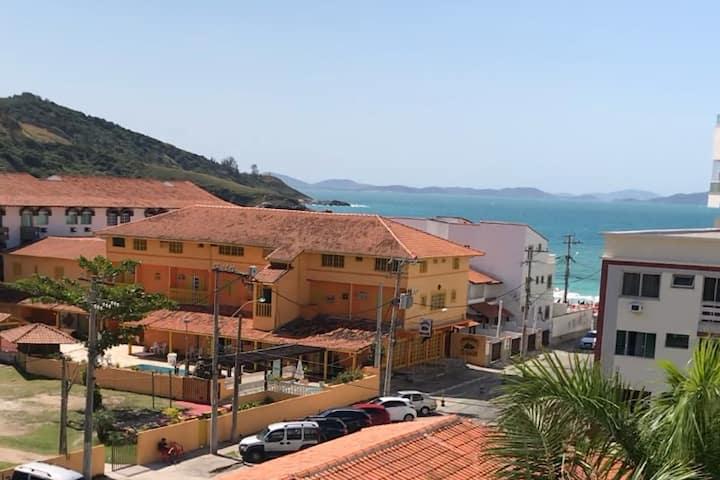 Apartamento Prainha com vista mar