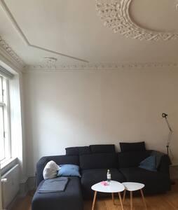 Centralt i Odense.100m fra banegård - Odense c - Apartment