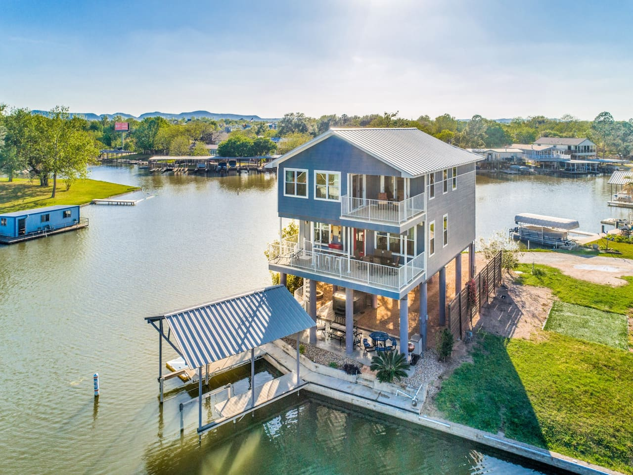 Two decks with views and a lake level living area for max relaxing