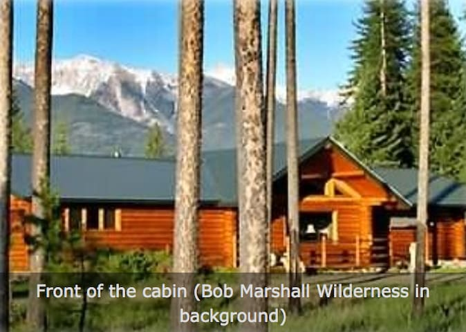 Montana Wilderness Cabin, Stunning Mountain Views - Condon - 통나무집