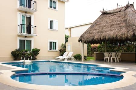 Perfecta Habitacion en Playacar! - 卡门
