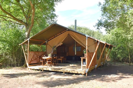 THE BRICKMAKER'S RETREAT- Large & Cosy Safari Tent