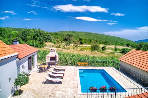 Holiday home Karmen with private pool for 8 people
