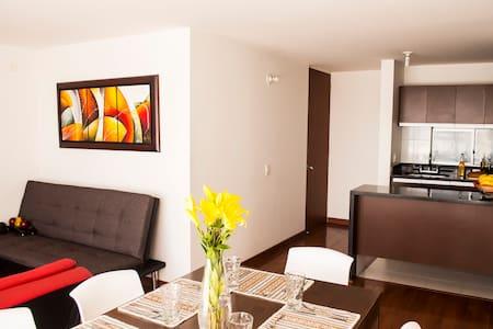 Furnished New Apto 3Br - 4 Beds - Free Wifi 820 - Bogotá