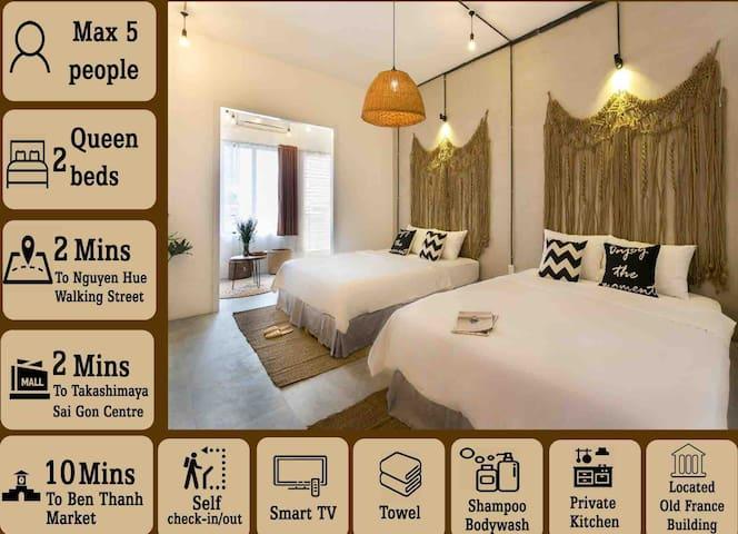 AMUIN 1| STAY CENTRE,next REX Hotel/TAKASHIMAYA ❤️