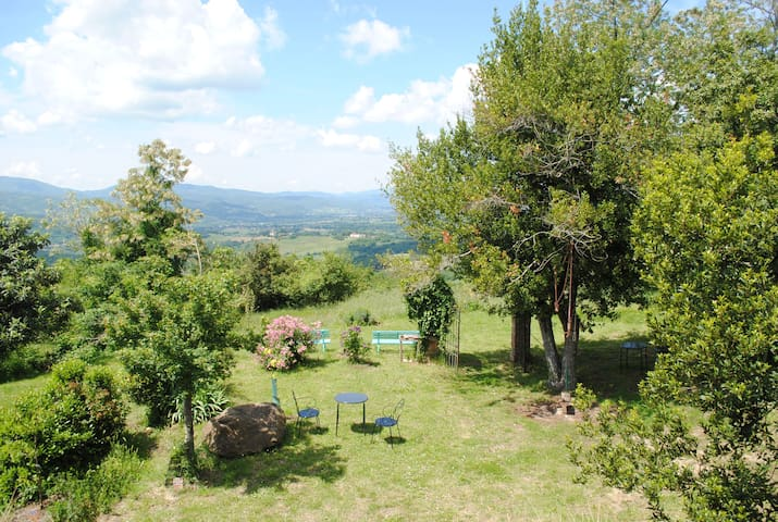 Farm hosting in Tertulia - Room Frutta - Vicchio - Vacation home