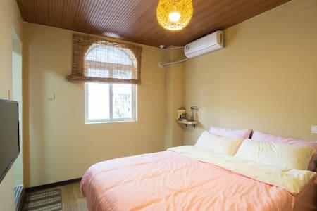 【暖居榻榻米大床】曾厝安的伴山别墅、悠闲居家的大院子和自助厨房 - Xiamen - Villa