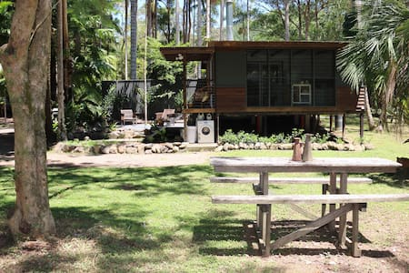 Modern Eco Cabin in Rainforest  - Main Arm