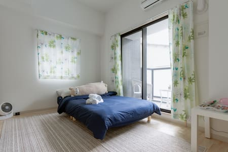 New☆6min from Namba! Free wifi! Nipponbashi - 大阪市 - Appartement