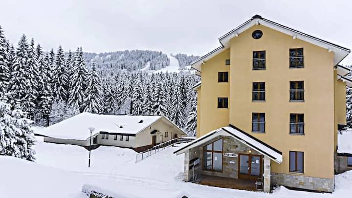 Plně vybavený apartmán v Peci pod Sněžkou