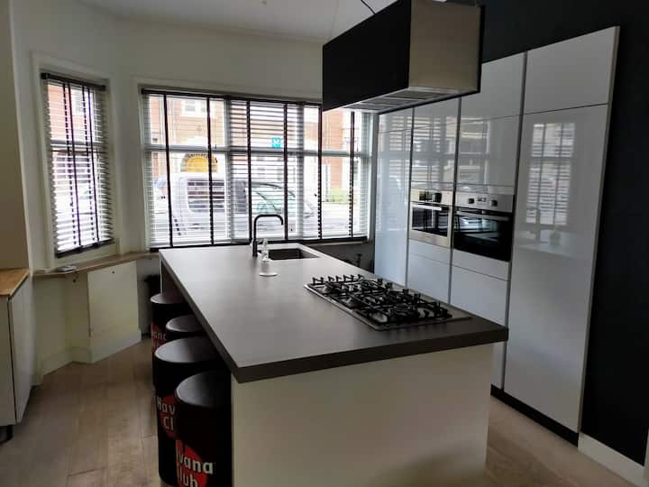 luxe stadsvilla Centrum 90 m2