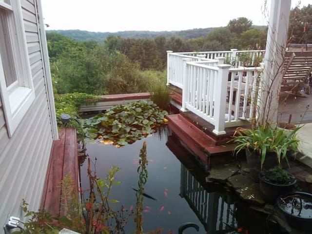 Beautiful Country Home with Koi Pond & Great Views